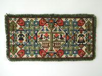 ヴィンテージ ツヴィスト刺繍 スウェーデンの民族衣装と動物模様
