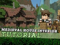 Minecraft Tutorial: Small Medieval House - Interior! Part 2/2 - YouTube