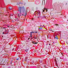 """A look at JeongMee Yoon's series """"The Pink & Blue Project""""."""