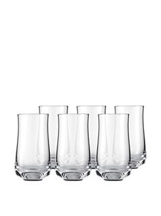 Eisch Set of 6 Novel 8.1-Oz. Malt Whiskey Glasses