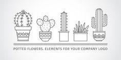 saguaro cactus drawing - Google Search