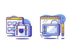 Design & Portfolio icons designed by Sooodesign. Connect with them on Dribbble; Outline Illustration, Digital Illustration, Flat Design, Icon Set, Portfolio Design, Icon Design, Line Art, Animation, Graphic Design