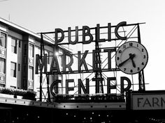 Pike Place Market~Have a signed & numbered rendition of this..WA??...For Sale.. if this Market means something to you.