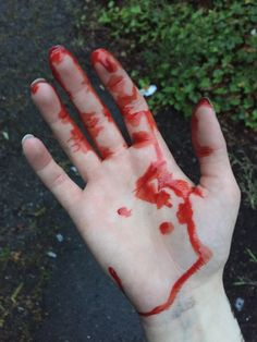 I'll be pinning lots of bloody hands just for you Gore Aesthetic, Bedroom Eyes, Trigger Happy Havoc, Sad Art, Sang, Tumblr, Shades Of Red, Yandere, D D Characters