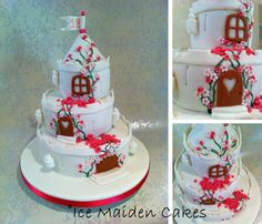 Fairytale Castle birthday cake - made for a not so little girl!
