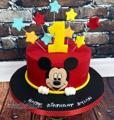 birthday mickey street mouse cakes caker cake kids Mickey mouse cake Kids Birthday Cakes Mickey Mouse Birthday Cake Caker StreetYou can find Mickey cakes and more on our website Pastel Mickey Mouse Niño, Bolo Do Mickey Mouse, Mickey And Minnie Cake, Fiesta Mickey Mouse, Bolo Minnie, Mickey Cakes, Mickey Mouse Cake Decorations, Mickey Mouse Smash Cakes, Disney Cake Pops