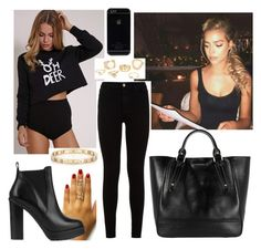 """""""Untitled #2044"""" by outfitstowear ❤ liked on Polyvore featuring 7 For All Mankind, Burberry, Tiffany & Co. and KG Kurt Geiger"""