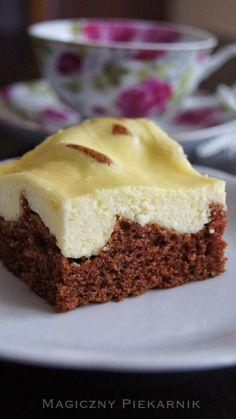 Polish Desserts, Polish Recipes, Baking Recipes, Cookie Recipes, Dessert Recipes, Sandwich Cake, Tasty, Yummy Food, Food Humor