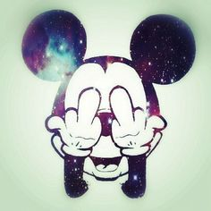 Mickey Mouse Tumblr Swag