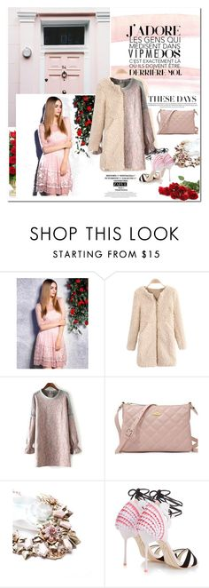 """""""Valentines Day"""" by vanjazivadinovic ❤ liked on Polyvore featuring Sophia Webster, women's clothing, women, female, woman, misses and juniors"""