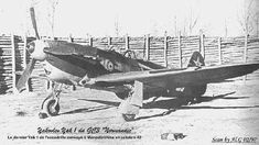 Normandie Niemen Yakovlev Yak-1 fighter. As the Free French squadrons with the…