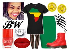 African Queen 2 (Street Style) by virtuousvessel on Polyvore featuring Tomas Maier, Boohoo, Dr. Martens, Givenchy, Winky Lux, NARS Cosmetics, Noir Cosmetics and Nails Inc.