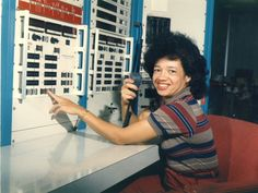 NASA and Integration During the Civil Rights Movement   (Christine Darden in the control room of NASA Langley's Unitary Plan Wind Tunnel in 1975. Photo by NASA)