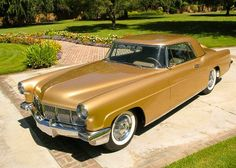 1957 Lincoln Continental Mark II....still a fine looking automobile....