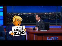 Cartoon Donald Trump Has The Biggest Numbers
