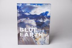 The Blue Earth Book just arrived in our office. This is visual storytelling at its best.