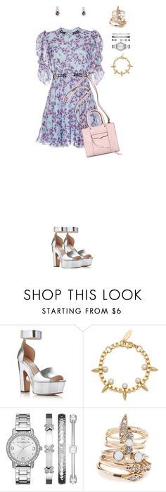 """""""950"""" by julialeskiv ❤ liked on Polyvore featuring Rebecca Minkoff, Nicholas Kirkwood, Joomi Lim, Liz Claiborne and Forever 21"""