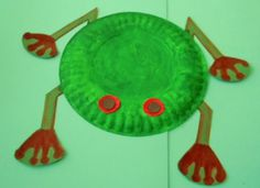 Brazil Craft Activities | Learning Ideas - Grades K-8: Red-Eyed Tree Frog Book and Craft Project