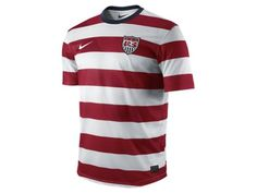 2012/13 US Replica Men's Soccer Jersey-- looks like a waldo shirt, but i like it.