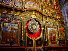 St.Basil Cathedral, interior.