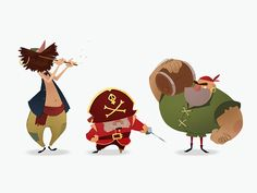 Character design for animation. Week 3