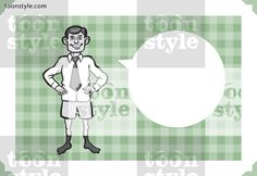 Greeting card with businessman in boxer shorts – personalize your card with a custom text