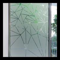D polir ses vitres de fen tre pour occulter le vis vis est tr s facile avec l 39 adh sif d poli - Stickers fenetre brise vue ...