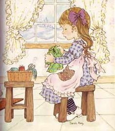 Sewing vintage illustration sarah kay new Ideas Sarah Key, Hobbies For Couples, Hobbies For Women, Hobbies To Try, Holly Hobbie, Mary May, Illustrations, Illustration Art, Hobby Photography