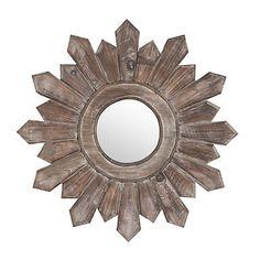 Poconos Wooden Wall Mirror