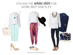 Styling Target's classic white shirt for work, rest and play - Stylescene