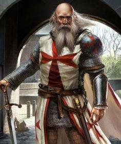 Grandmaster - Grootmeester Jacques de Molay - Medieval - Templar - Crusader - Knight