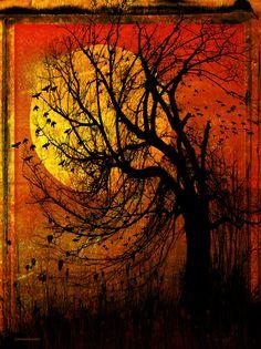 October Moon by Ron Jones