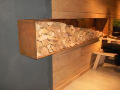 Regal Aufbewahrung Brennholz Buffet, Inspiration, Cabinet, Storage, Furniture, Home Decor, Fireplace Logs, Firewood, Room Interior