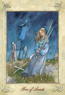 Five of Swords - Tarot Card