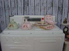 Dollhouse Miniature Shabby Chic Vintage Style by IttyBittyAndCute, $14.95