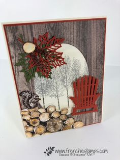 Fall wood projects stampin up 47 ideas - Wood Project Fall Cards, Holiday Cards, Christmas Cards, Stampin Up Christmas 2018, Masculine Birthday Cards, Masculine Cards, Halloween Cards, Fall Halloween, Happpy Birthday