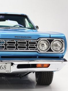 This '69 Plymouth Road Runner has it all: looks to kill, power that never stops and an all american muscle heart. Click to discover more. #ThrowbackThursday #spon