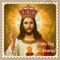 Imágenes de Cecill: Cristo Rey del Universo, Estampas