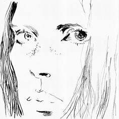 'Iselin' by Eunjeong Yoo  http://www.eunjeongyoo.com/projects/faces-in-black/