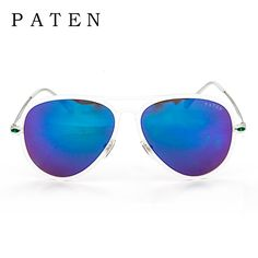 Aliexpress.com : Buy Pilot Vintage Mens Sunglasses 100% Brand New Multi Color Sunglass UV400 lentes de sol mujer Sun Glasses harajuku men from Reliable harajuku costume suppliers on Wenzhou Biao Yi Eyewear & Accessories Co., Ltd Store