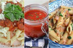 3 x pastasaus, klaar in 10 minuten