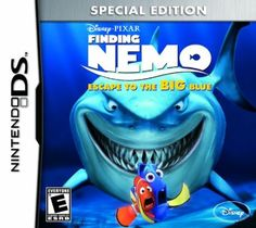 Shop Disney/Pixar Finding Nemo: Escape to the Big Blue Special Edition Nintendo DS at Best Buy. Find low everyday prices and buy online for delivery or in-store pick-up. Disney Pixar, Heros Disney, Disney Games, Disney Ideas, Wii, Nintendo 3ds Games, Nintendo Dsi, Videogames, Cry Anime