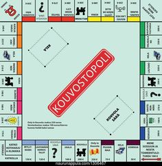 Family game time never has to end with Hasbro's Monopoly Game Board patterned paper. This x replica of the Monopoly game board is going to be a