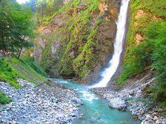 **Liechtensteinklamm (waterfall, gorge walk) - Sankt Johann im Pongau, Austria