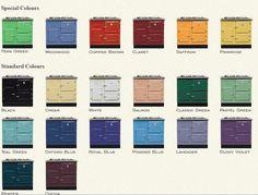 Image result for esse ec4i range cooker colours