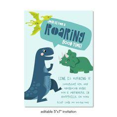 Dinosaur Party Printable Pack