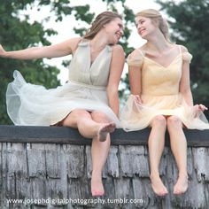 Vanessa Dress - Dress Shop Tulle teamwork! Our tulle bridesmaid dresses look so fun!