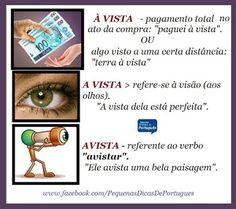 Nosso Português é Nossa Cultura. - Dicas de português / grammar tips - Comunidade - Google+