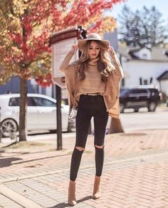 winter outfits formales amazing casual outfits for winter. Hot Fall Outfits, Outfits With Hats, Casual Winter Outfits, Winter Fashion Outfits, Mode Outfits, Girly Outfits, Look Fashion, Pretty Outfits, Chic Outfits