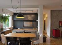 Diseño de departamento de 106 metros cuadrados, presenta moderno y originales interiores